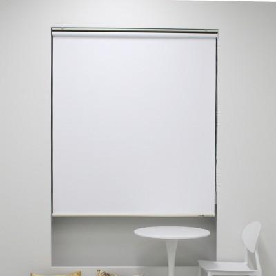 [블라인드모아] 양면 암막 롤스크린 - 501 화이트