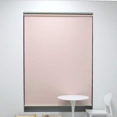 [블라인드모아] 양면 암막 롤스크린 - 506 핑크
