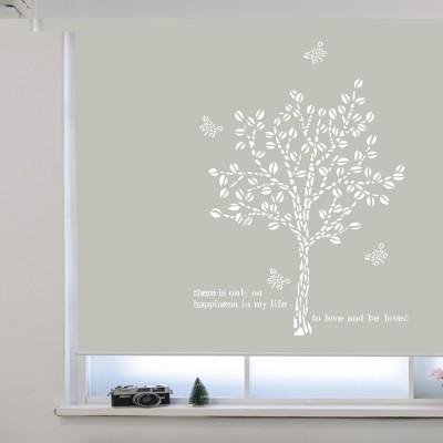 레이저롤스크린 - 나무